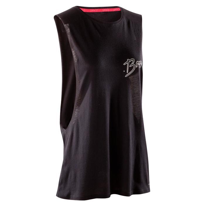 T-shirt sans manche de danse femme - 1270015