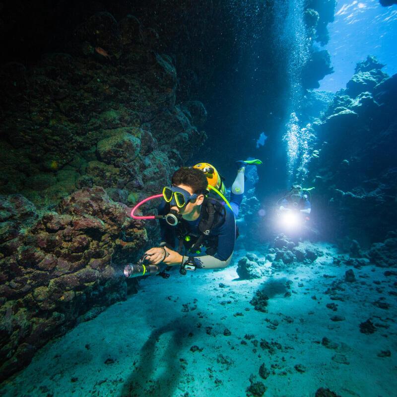 gilet stabilisateur subea test plongeurs international