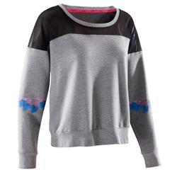 Danssweater voor dames grijs