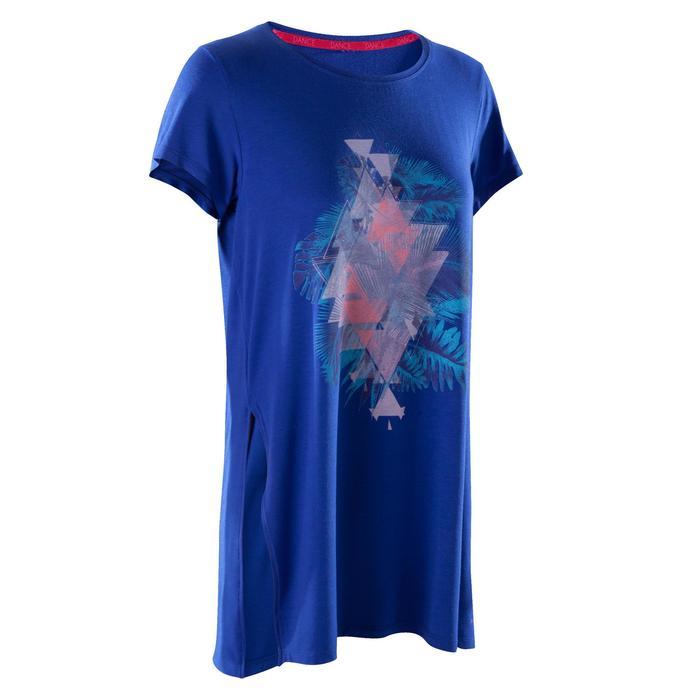 Tunique de danse, longue et ample, femme bleue - 1270021