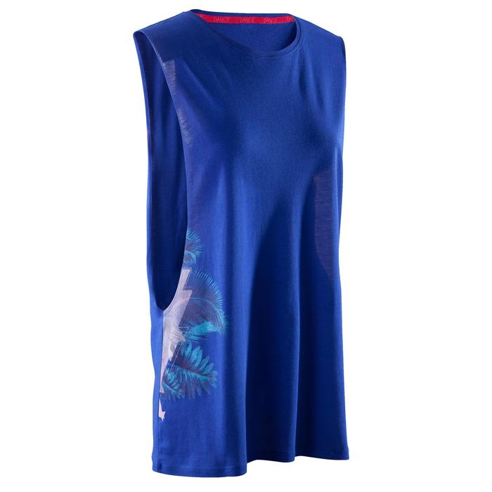 T-shirt sans manche de danse femme - 1270027