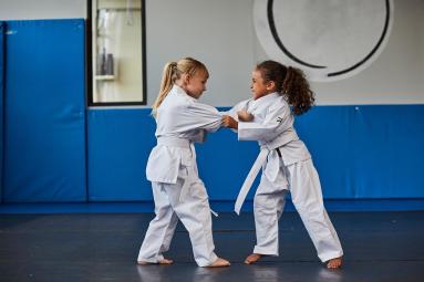 孩子 跆拳道