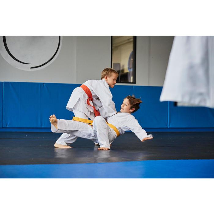 Judogi kimono de judo, aikido Outshock 500 júnior blanco