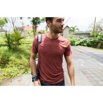 T-Shirt manches courtes randonnée Techwool 155 homme - 1270081