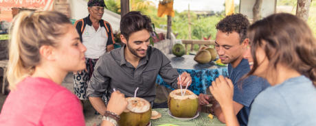 vrienden-reis-delen-drank