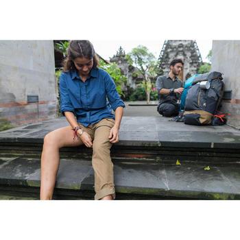 Zip-off-Hose Travel 500 Damen kamelbraun