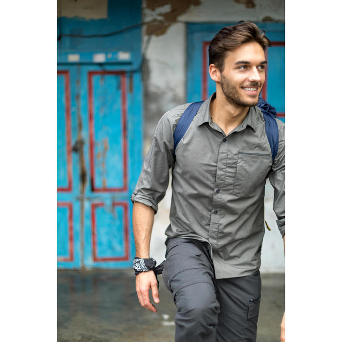 Chemise manches longues TRAVEL 500 MODUL Homme - 1270156