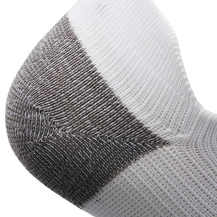 Calcetines de marcha deportiva SK 500 Fresh Invisible blanco