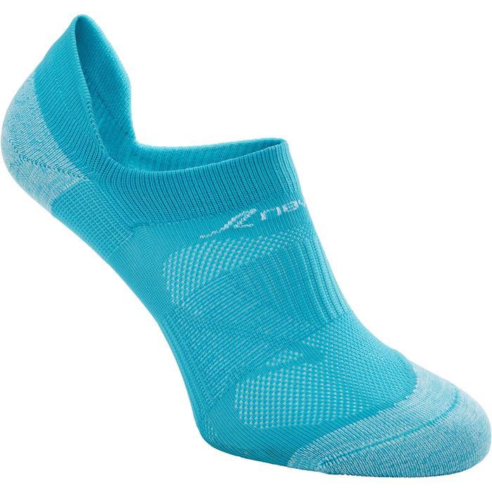 """Sokken voor sportief wandelen SK 500 Fresh Invisible turquoise"""""""