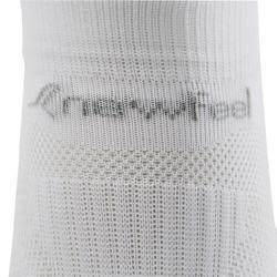 Chaussettes marche sportive SK 500 Fresh Invisible blanc