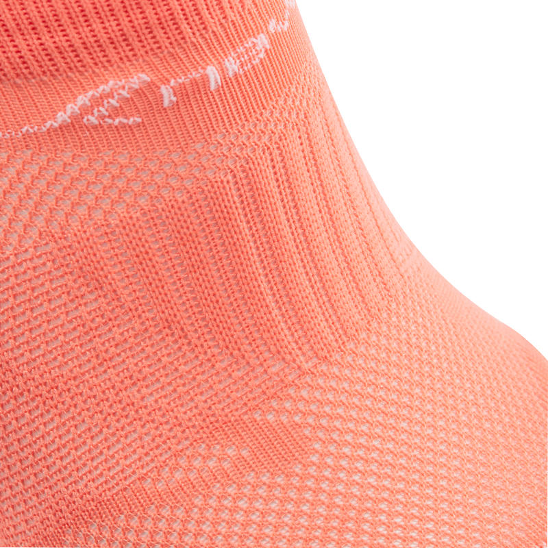 SK 500 Fresh Invisible Fitness Walking Socks - Coral