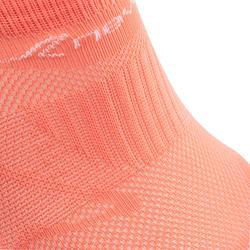 Calcetines de marcha deportiva SK 500 Fresh Invisibles coral