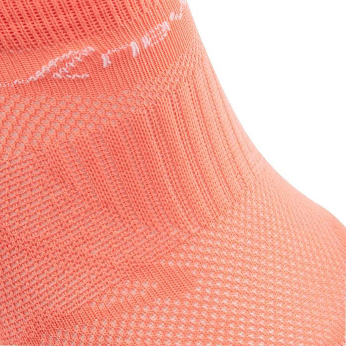 Chaussettes marche sportive SK 500 Fresh Invisible corail
