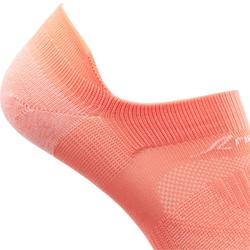 Calcetines Caminar Newfell SK 500 Fresh Invisibles Coral