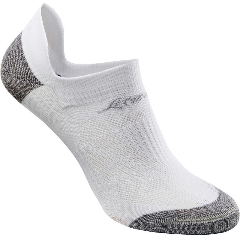 ถุงเท้าซ่อนสำหรับใส่เดินเพื่อสุขภาพรุ่น SK 500 Fresh (สีขาว)