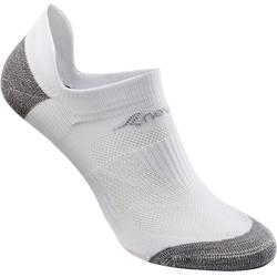SK 500 Fresh Invisible Fitness Walking Socks - White