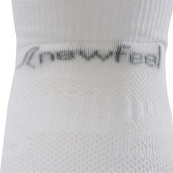 Calcetines de marcha deportiva júnior WS 500 Fresh blanco