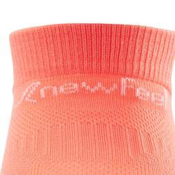Calcetines de marcha deportiva júnior WS 500 Fresh coral