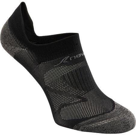 Kaus kaki jalan bugar SK 500 Fresh Invisible hitam