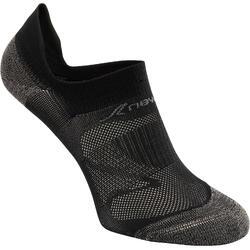 Sokken voor sportief wandelen SK 500 Fresh Invisible zwart