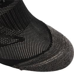 Calcetines Caminar Newfell SK 500 Fresh Invisibles Negro