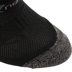 Sneakersocken WS 500 Fresh Kinder schwarz