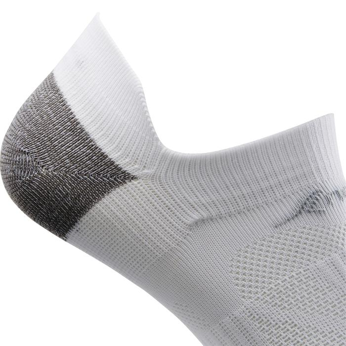 Calcetines de marcha deportiva SK 500 Fresh Invisible blanco