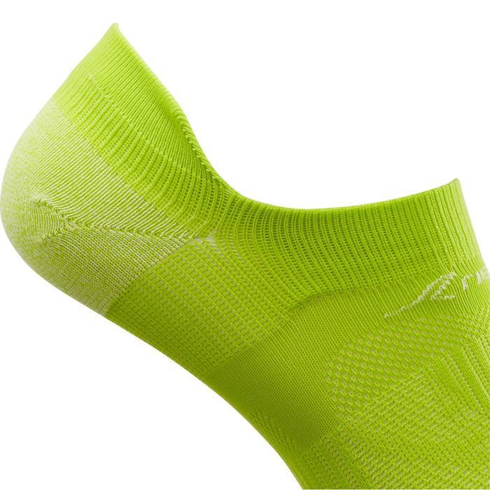Calcetines de marcha deportiva SK 500 Fresh Invisible verde