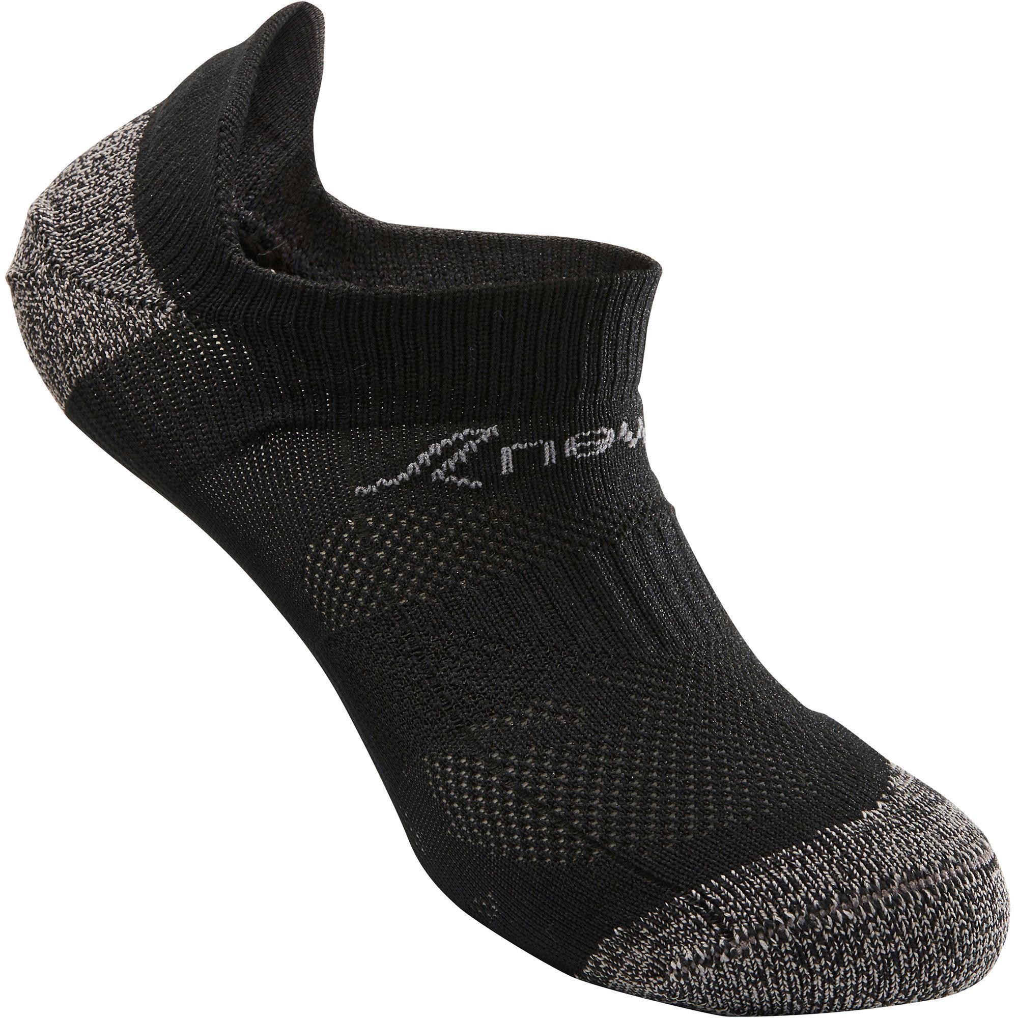 Newfeel Kindersokken voor sportief wandelen WS 500 Fresh zwart