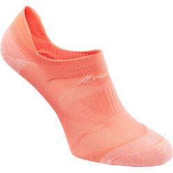 Calcetines de marcha deportiva SK 500 Fresh Invisible coral