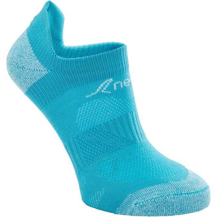 Calcetines de marcha deportiva júnior WS 500 Fresh turquesa