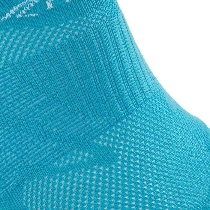 Calcetines de marcha deportiva SK 500 Fresh Invisible turquesa