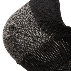 Calcetines de marcha deportiva NIÑOS WS 500 Fresh negro