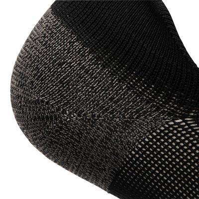 Chaussettes marche sportive SK 500 Fresh Invisible noir