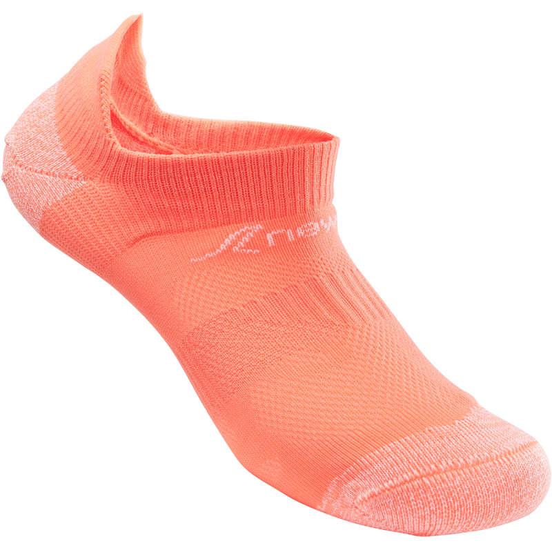 SPORT WALKING SOCKS - SK 500 Fresh junior coral NEWFEEL