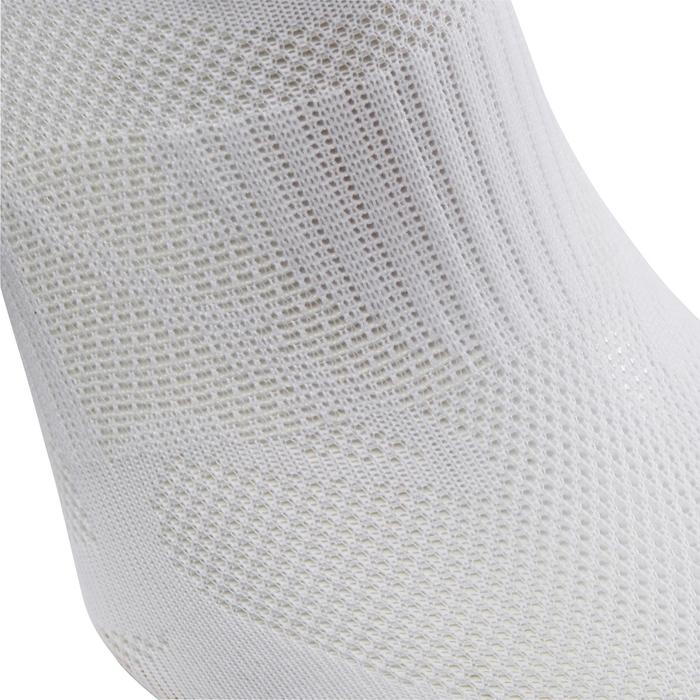 Calcetines Caminar Newfell SK 500 Fresh Invisibles Blanco