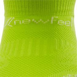 Calcetines de marcha deportiva júnior WS 500 Fresh verde