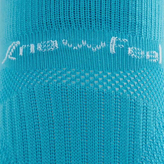 Calcetines Caminar Newfell SK 500 Fresh Invisibles Turquesa