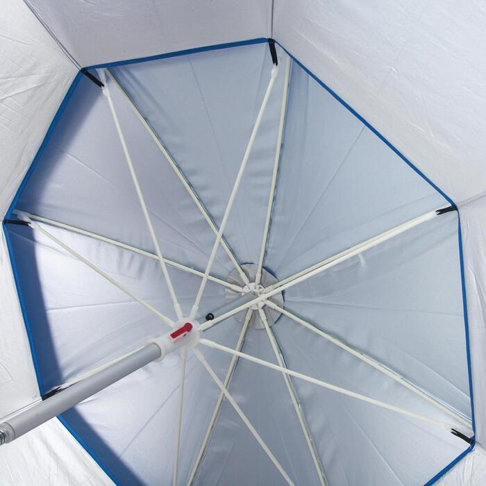 Uv-werende parasol voor statisch vissen 180 cm