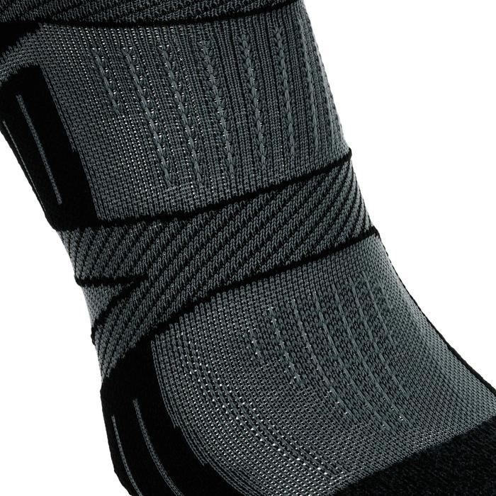 Laufsocken dünn Kiprun Strap schwarz