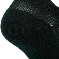 Calcetines Running Kalenji Confort Adultos Negro Invisibles x2