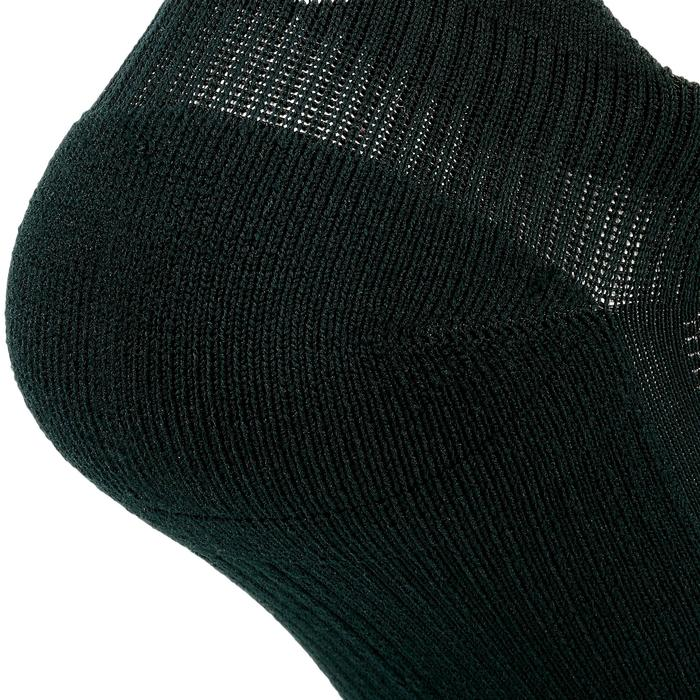 Onzichtbare hardloopsokken Comfort zwart 2