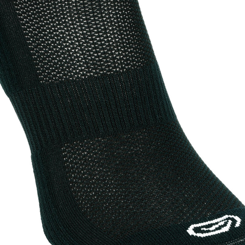 RUNNING COMFORTABLE MID-HEIGHT SOCKS 2-Pack - BLACK