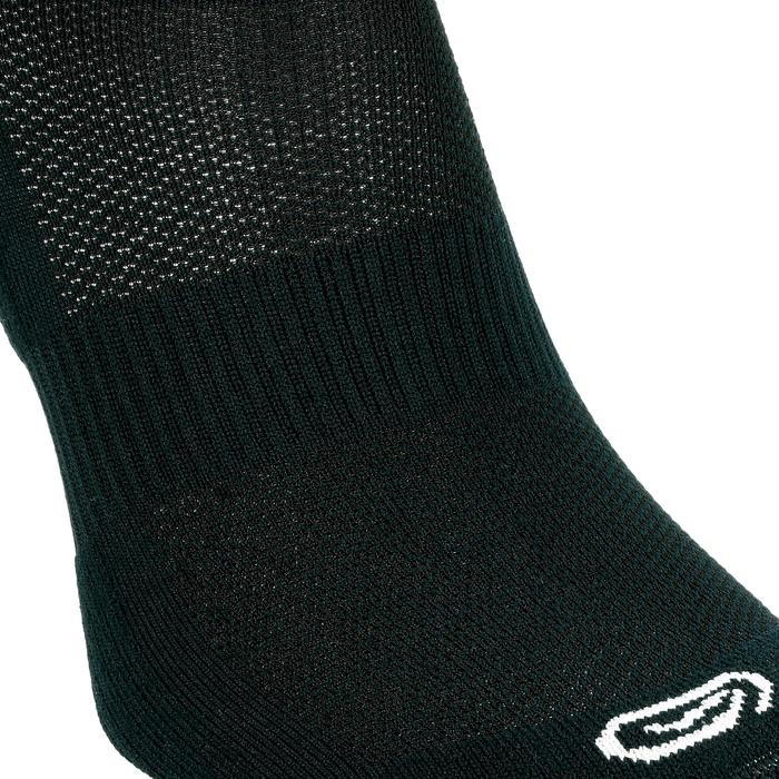 CALCETINES adultos running CONFORT INVISIBLES X2 NEGRO
