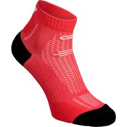 RUNNING MID-HEIGHT THICK SOCKS KIPRUN - PINK