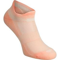 2雙入舒適跑步隱形襪-粉紅色