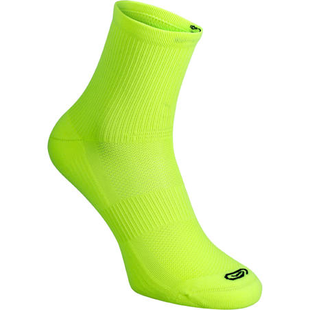 COMFORT MID SOCK X2 YELLOW