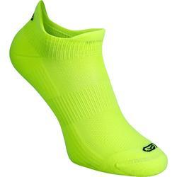 Onzichtbare sokken Comfort x2 geel