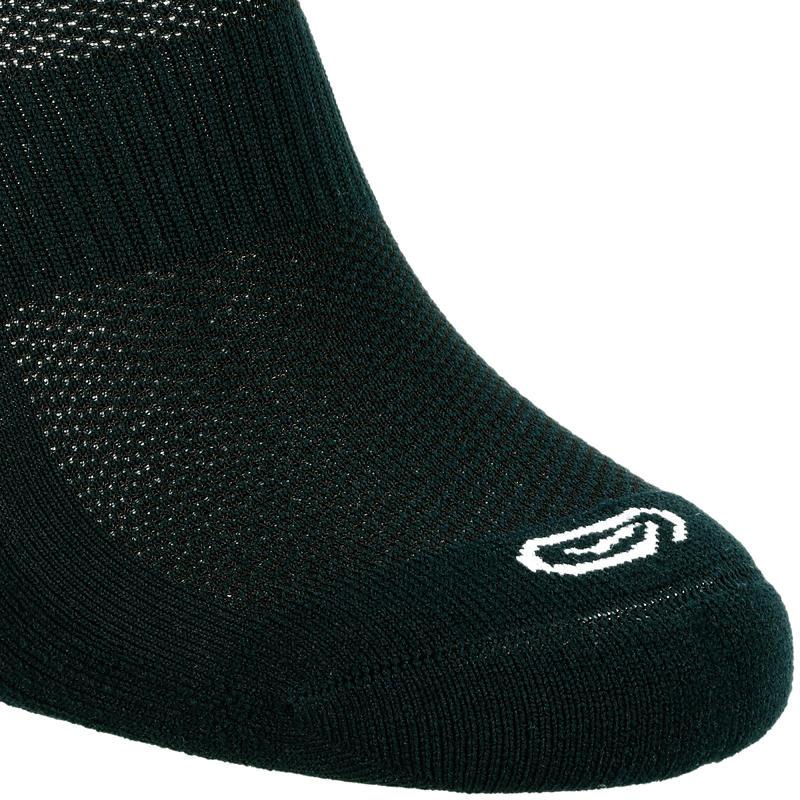RUNNING COMFORTABLE MID-HEIGHT SOCKS 2-Pack - BLACK