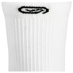 Halfhoge sokken Comfort x2 wit